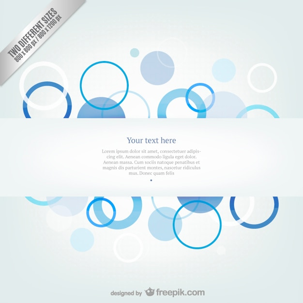 Abstract Wallpaper Template Free Vector