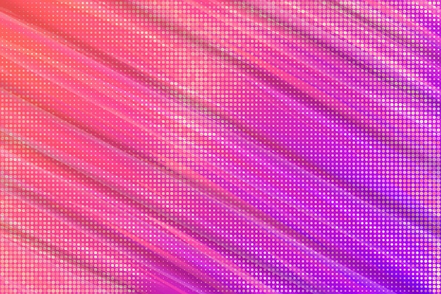 ハーフトーン効果の抽象的な壁紙 無料ベクター