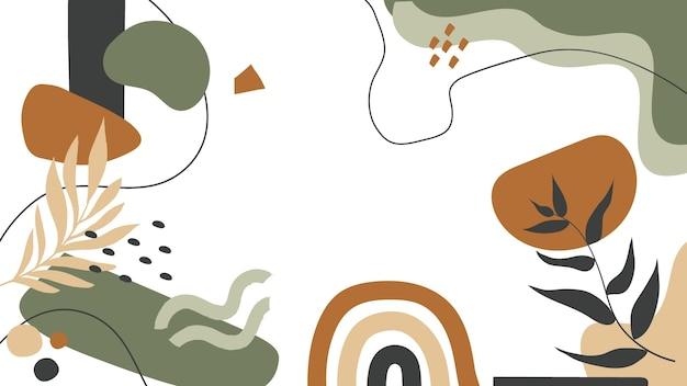 抽象的な壁紙 無料ベクター