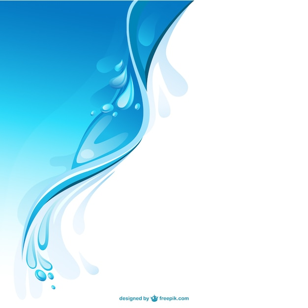 Abstract water background Vector | Free Download