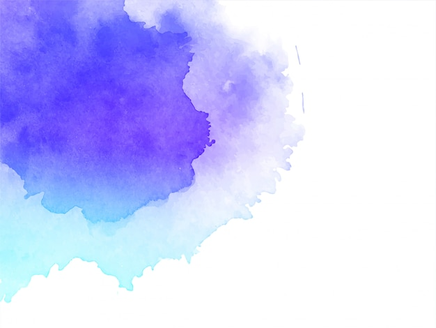 Abstract watercolor background Free Vector