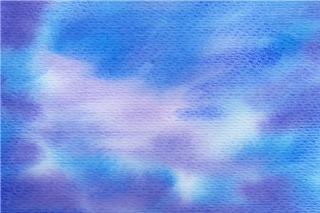 抽象的な水彩画の背景 無料ベクター