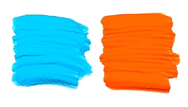 Абстрактная акварель краска setground Бесплатные векторы