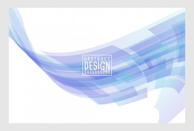 Abstract wave art background design Premium Vector
