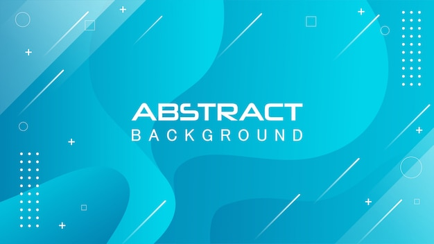 Abstract wave background in blue Premium Vector