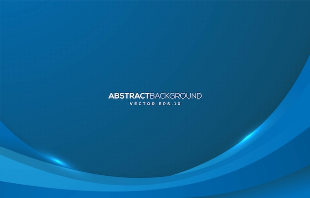 Abstract wave background design with modern concept Premium Vector