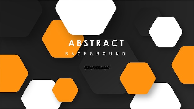 Abstract wave background with colorful shapes Premium Vector