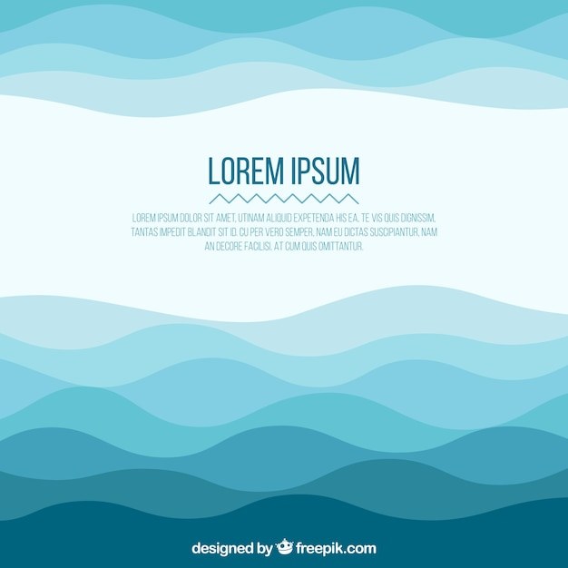 Abstract Wave Background Vector Free Download