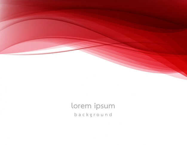 Abstract wave design background. Premium Vector