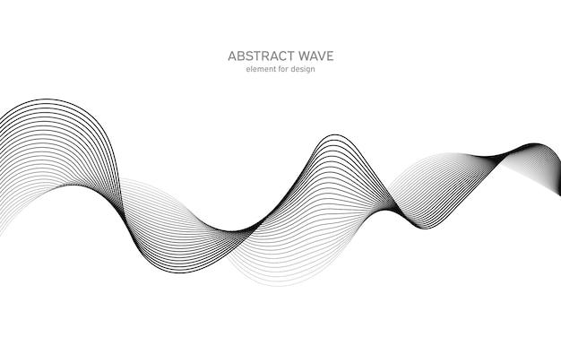 Абстрактный элемент волны для дизайна. цифровой частотный трековый эквалайзер. Premium векторы