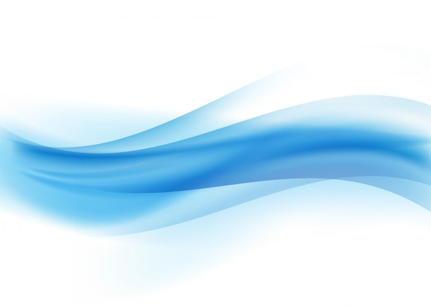 Abstract waves design Free Vector