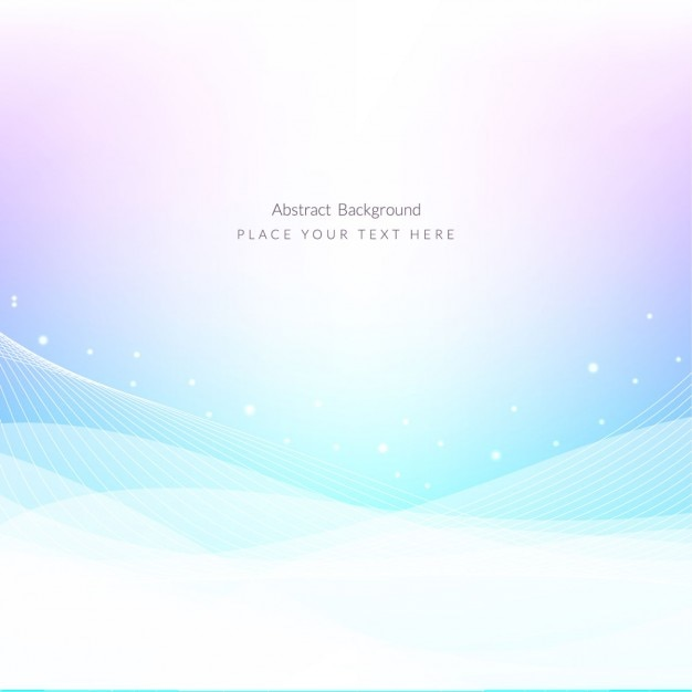 Abstract waves shiny background Free Vector