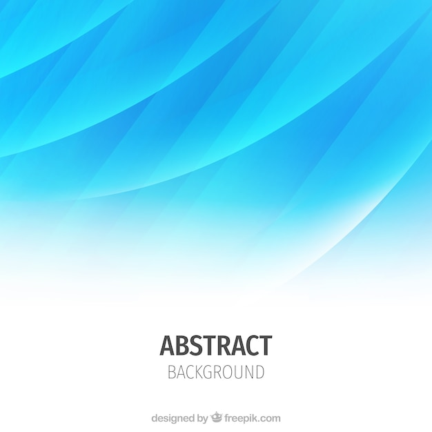 Abstract wavy background, blue color