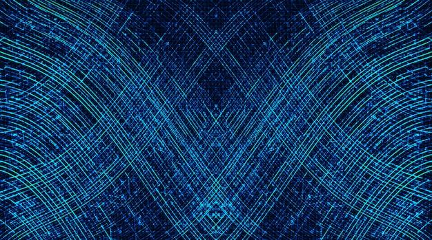 Abstract wavy background Premium Vector
