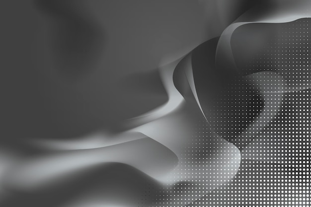 Abstract wavy background Free Vector