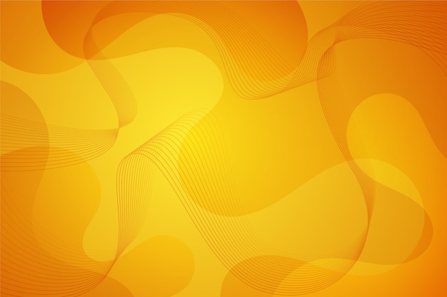 Abstract wavy shapes background Free Vector