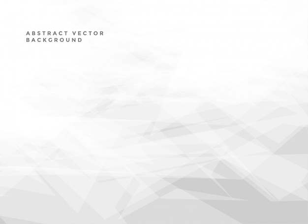 Abstract white background with copyspace Free Vector