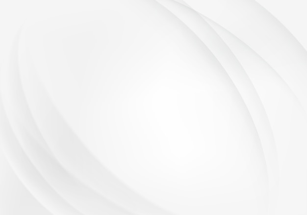 Abstract white background Premium Vector