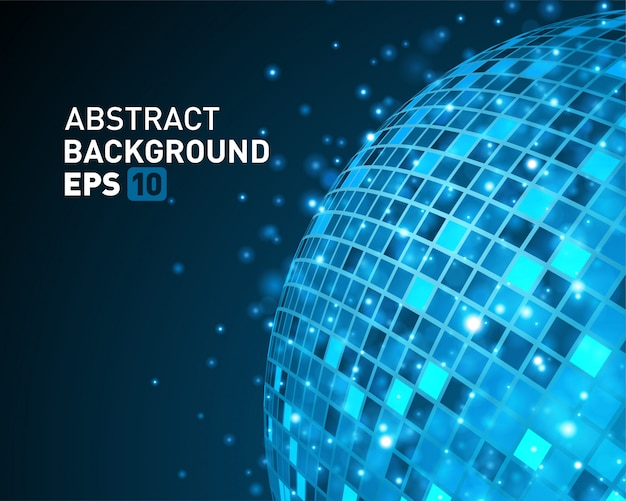 Abstract wire 3d sphere technology and glow light effect Premium Vector