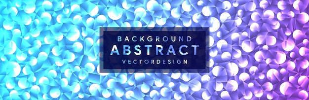 Abstract with 3d crystal shapes geometric polygonal background Premium Vector