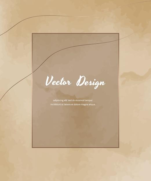 Аннотация с дизайном обнаженных форм. настенное искусство для печати, нейтральный художественный принт середины века Premium векторы