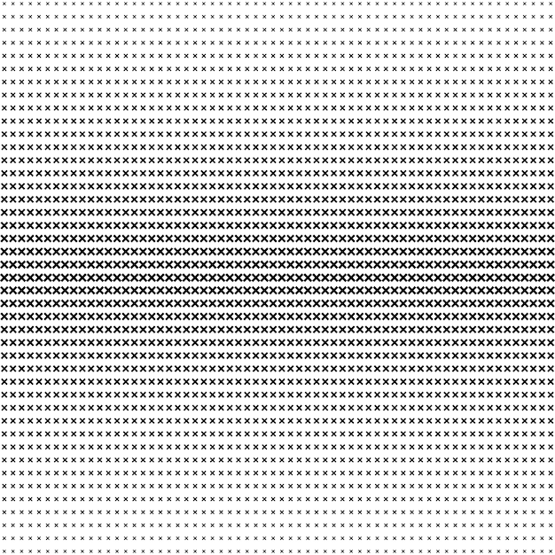 Premium Vector Abstract X Shape Pattern Halftone Background