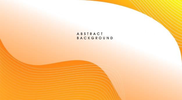 Абстрактный желтый фон Premium векторы