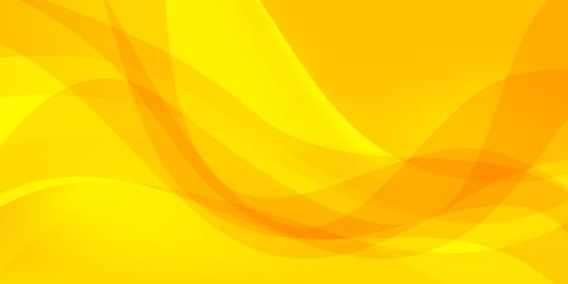 黄色の抽象的な背景 Premiumベクター