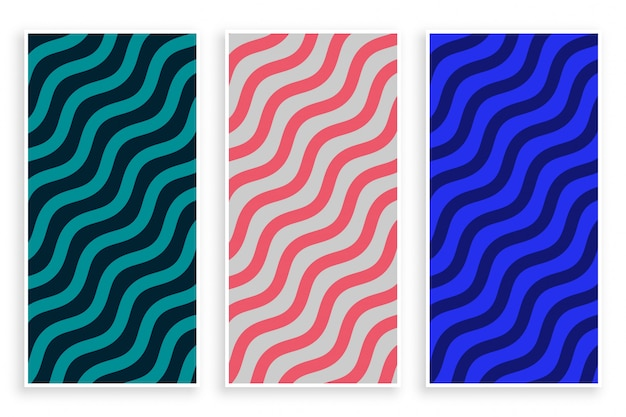 Abstract zigzag diagonal wave pattern background Free Vector