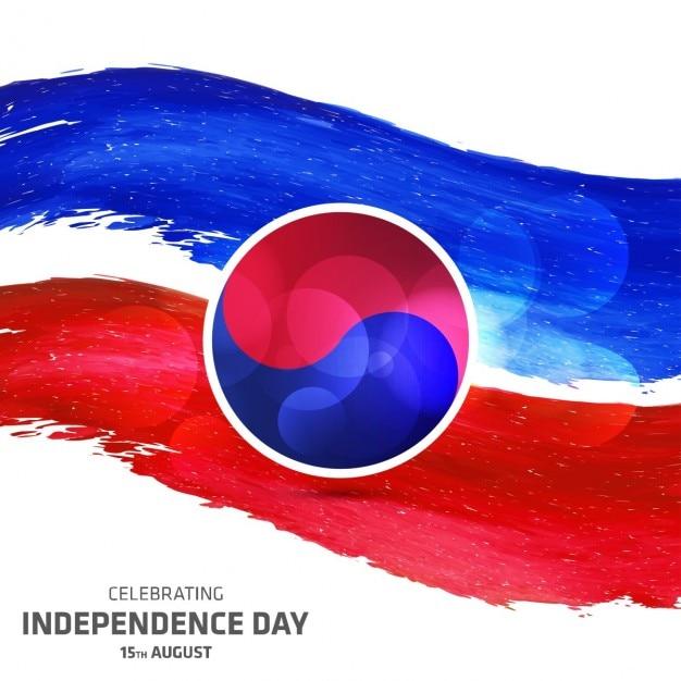 独立記念日ベクトルイラストabstrect abstrect南朝鮮 無料ベクター
