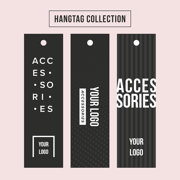 Accessories sales tags Premium Vector