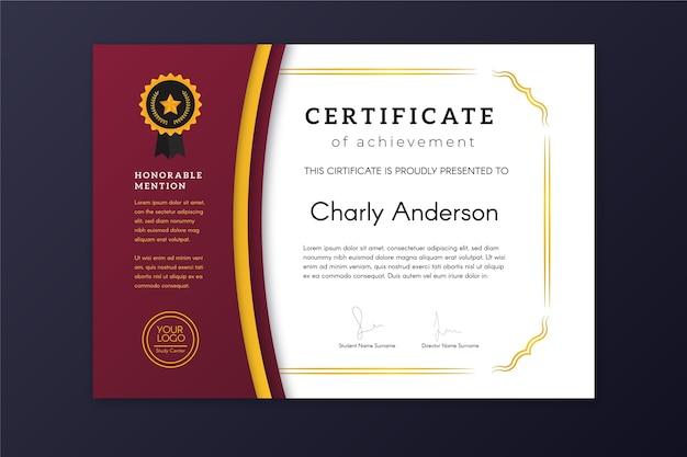 background sertifikat kosong hd