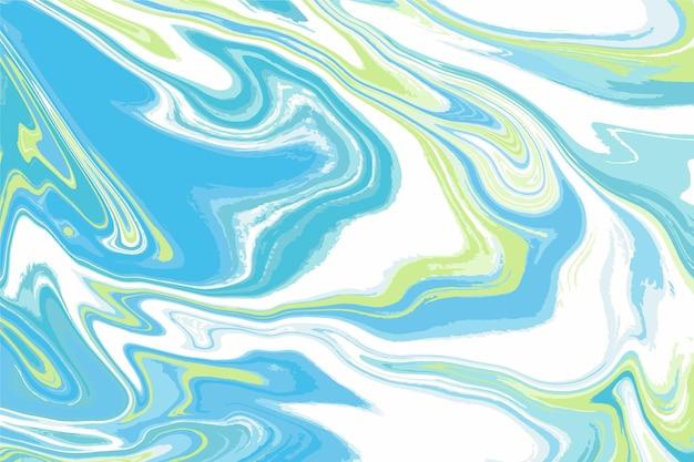 Acid marble background concept Premium Vector