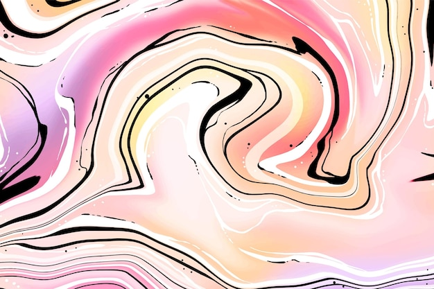 Acid marble background Free Vector