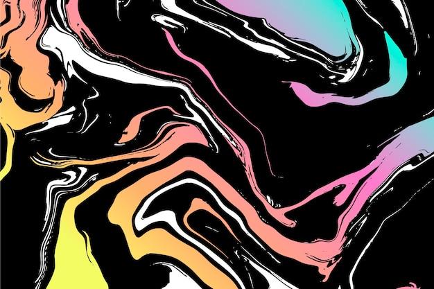 Acid marble wallpaper Premium Vector