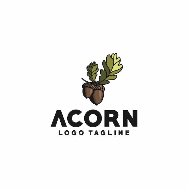 Acorn Premium Vector