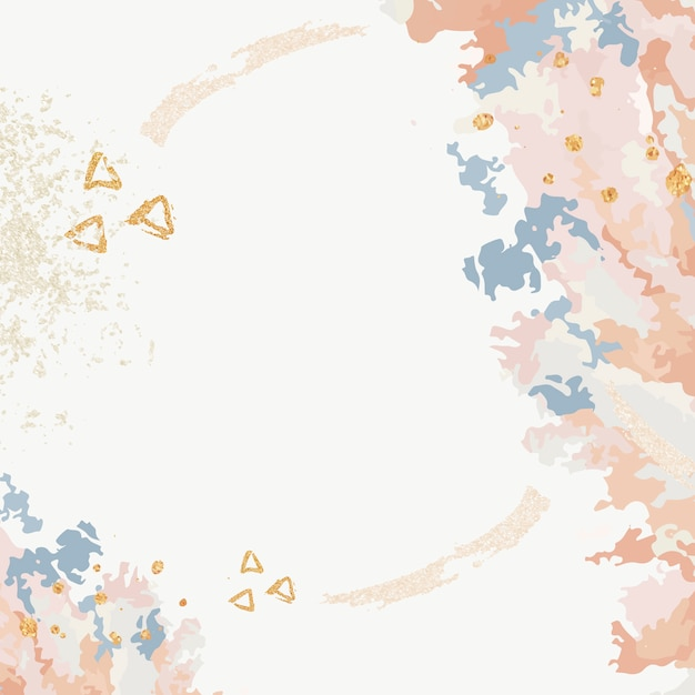 Acrylic paint pour background vector Free Vector