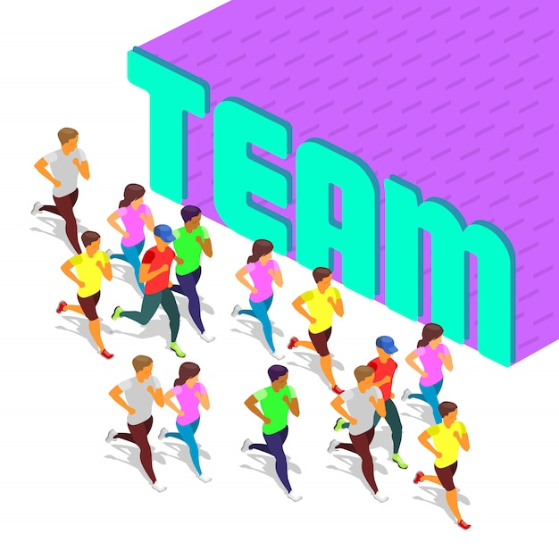 Activity team sport Premium Vector