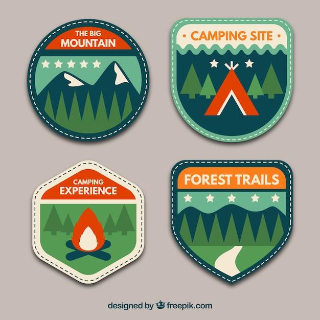 Adventure badges pack