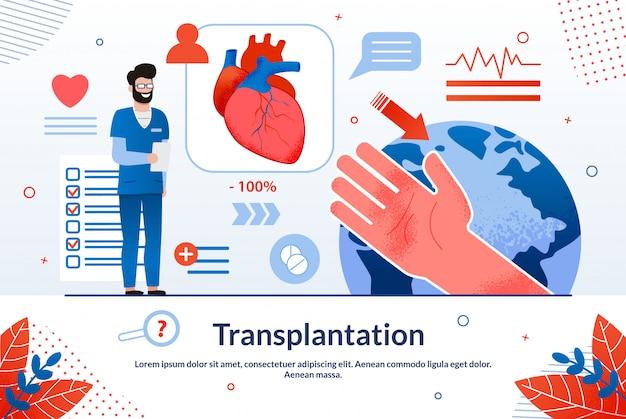 Advertising  is written transplantation. Premium Vector