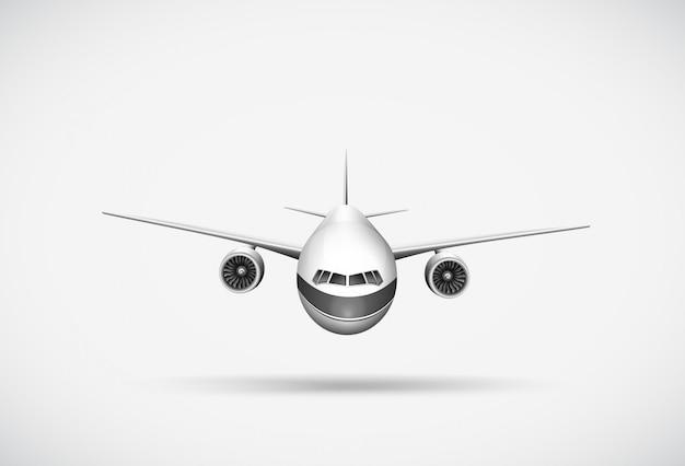 An aeroplane Free Vector