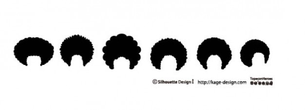 Afro Hair Vector Free Download