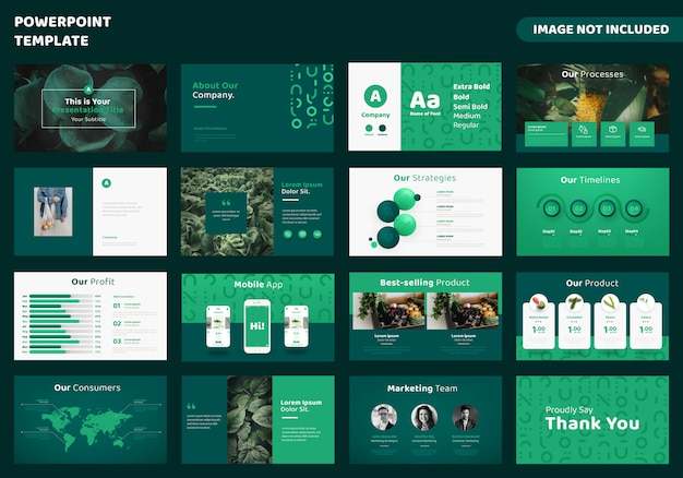 Premium Vector Agriculture Business Powerpoint Presentation Template