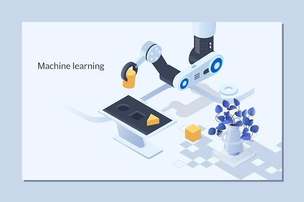 Ai、人工知能、機械学習、ニューラルネットワーク、最新技術 Premiumベクター