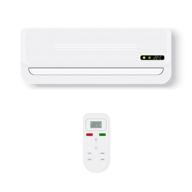 Air conditioner Premium Vector