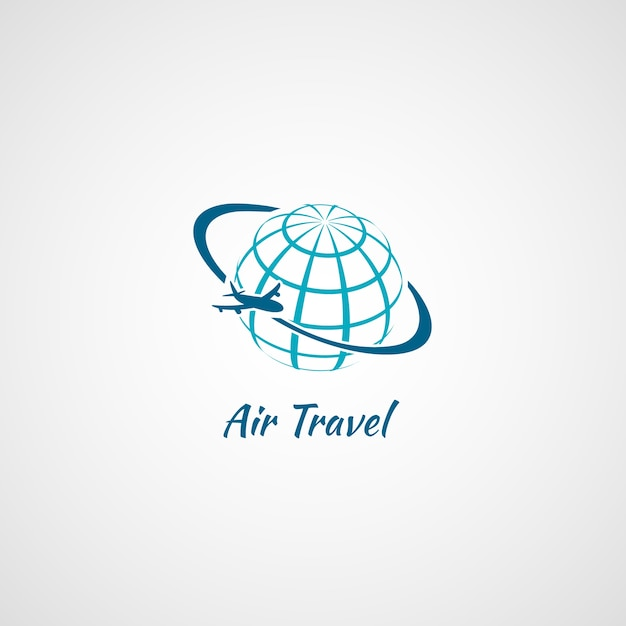 Air travel logo Vector | Free Download