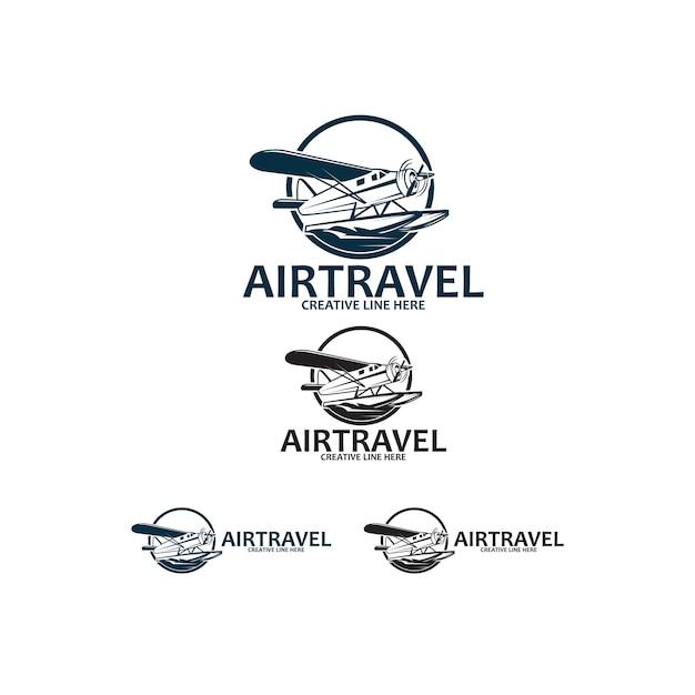 Air travel Premium Vector