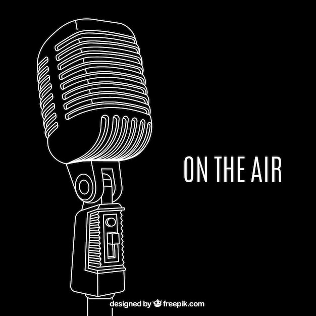 On the air Free Vector