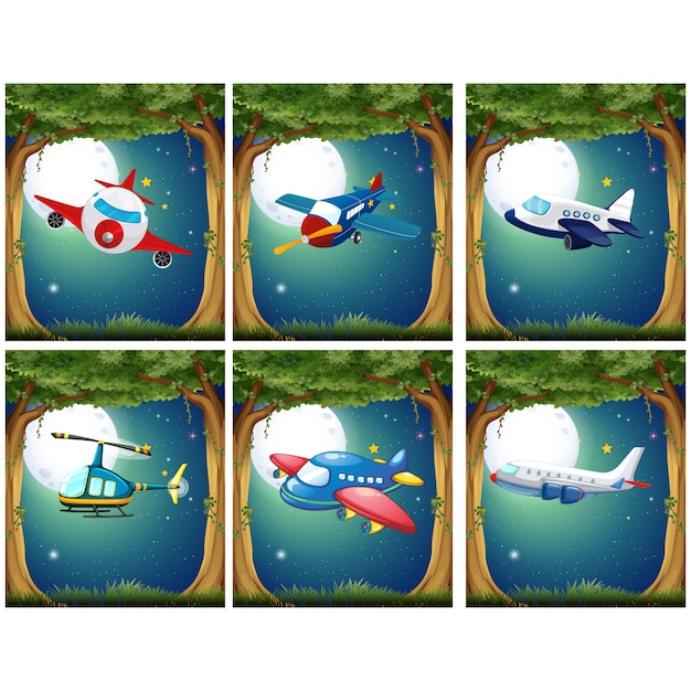 Airplane designs collection