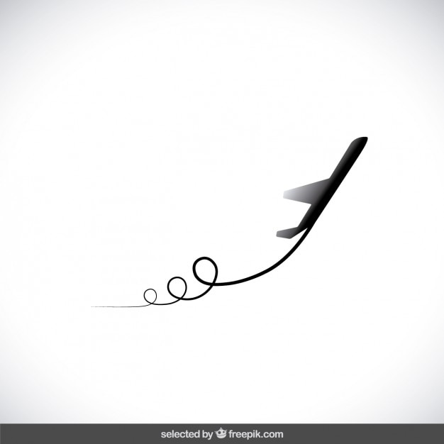 Airplane Silhouette Vector Free Download
